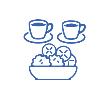 アイコン:お茶・お菓子